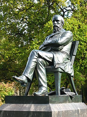 William Sefton Moorhouse - Statue of Moorhouse in the Christchurch Botanic Gardens