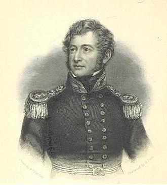 William Allen (Royal Navy officer) - William Allen, 1848 engraving.
