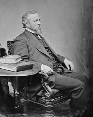 William B. Washburn - Image: William B. Washburn Brady Handy