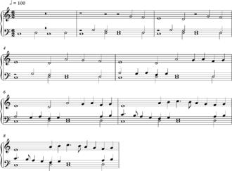 Ostinato - William Byrd, The Bells