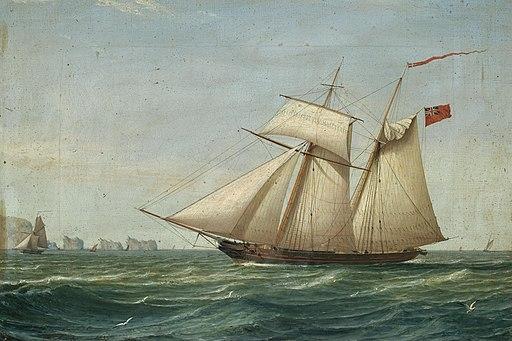 William Clark - A British Topsail Schooner (1833)
