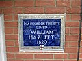 William Hazlitt plaque.JPG