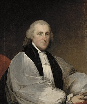 William White (bishop of Pennsylvania) - The Most Reverend William White, 1795: Oil on Canvas