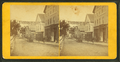Williams St. with a banner for an art gallery, by T. E. M. White.png