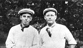 Alex Smith (golfer) - Alex Smith (right) with Willie Anderson