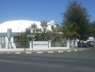 Media of Namibia - Headquarters of Windhoek Observer newspaper, 2011