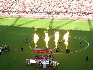 Emirates Cup - Image: Winning the Emirates Cup