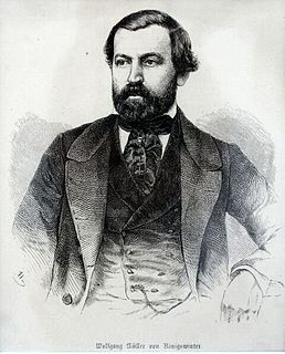 Wolfgang Müller von Königswinter German poet and novelist
