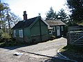 Wooden House at the entrance to Newbrough Lodge - geograph.org.uk - 388132.jpg