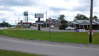 Woodstock, Alabama - Business at the commercial center of Woodstock
