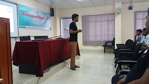 Workshop on Wikipedia 2017 in university of Rajshahi 11.jpg