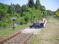 Wriezener Bahn 2009 Nr1 Draisinen-Wendestelle in Sternebeck.JPG