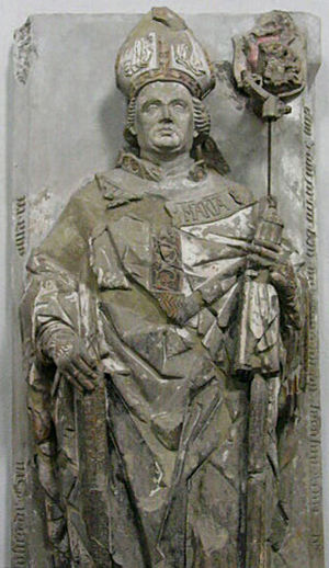John III of Grumbach - John III of Grumbach, grave sculpture in Wurzburg Cathedral