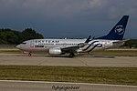 YR-BGF Boeing B737-78J B737 - ROT (29562854660).jpg