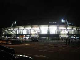 Yad Eliyahu Arena at night.JPG