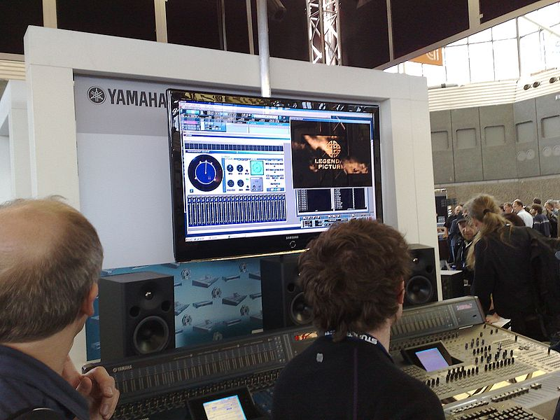 File:Yamaha booth (AES 124).jpg