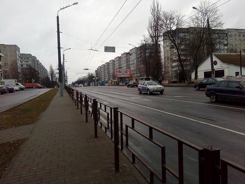 File:Yefremov Street in Homiel.jpg
