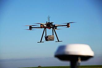 Lidar - LIDAR scanning performed with a multicopter UAV.