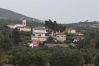 Yerakini - Yerakini as seen from the west