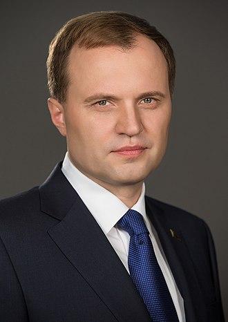 President of Transnistria - Image: Yevgeny Shevchuk (vspmr.org)