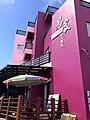 Yi Jia Cactus Ice Cream set up shop in this fuchsia building.jpg