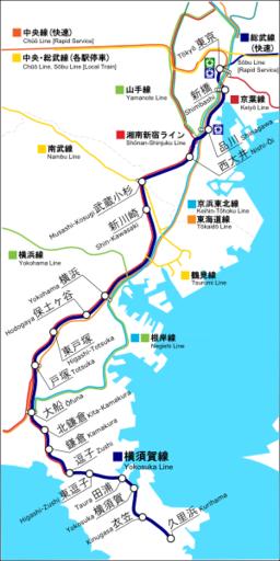 Yokosuka Line - Wikipedia
