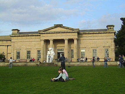 Yorkshire Museum is based in the city - tourism is an important contributor to York's economy Yorkshire Museum, York, England-23March2005.jpg