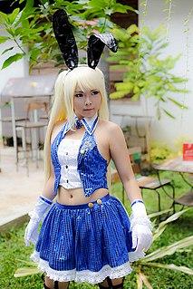 Putri Nony Lovyta Indonesian cosplayer and model