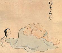 Nukekubi in un'illustrazione del periodo Edo.