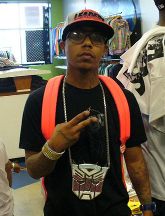 Yung Berg - Yung Berg in Chicago, 2008.