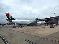 ZS-SXA - A343 - South African Airways