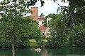 Zamek joannitów w Łagowie, widok od strony jeziora.jpg