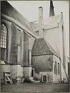 zicht op aanbouw aan koor hervormde kerk vanuit het noordoosten - abcoude - 20319944 - rce
