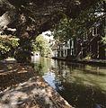 Zicht op de gracht met werf en werfkelders - Utrecht - 20414426 - RCE.jpg