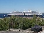 Zuiderdam assisted by Arkturus in Port of Tallinn 2 June 2019.jpg