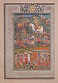 """Manuchihr Kills Salm"", Folio from a Shahnama (Book of Kings) MET sf68-215-25.jpg"