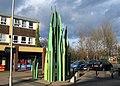 """Street Art"", Hadley, Telford - geograph.org.uk - 1718411.jpg"
