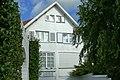 """""""Zonneland - Zandberg"""", gekoppelde villa in cottagestijl, Eugène Ysayelaan 9,11, 't Zoute (Knokke-Heist).JPG"""