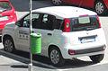 """"""" 12 - ITALY - Milan white hatchback Fiat Panda 2012.jpg"""