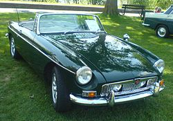 1966 MG MGB (North America)