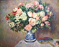 'Bouquet of Chrysanthemums and a Japanese Fan' by Pierre-Auguste Renoir.JPG