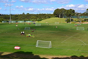 Macquarie Park, New South Wales - University sports fields, Culloden Road