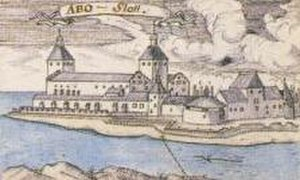 Turku Castle - Castle seen in 1724