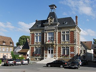 Écouis Commune in Normandy, France