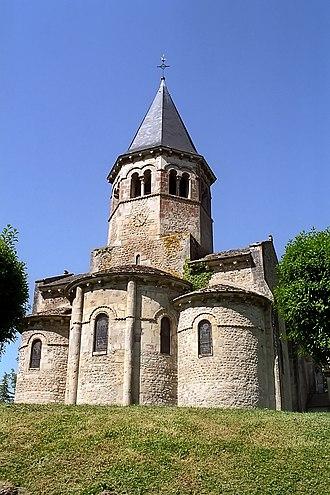 Biozat - The church in Biozat