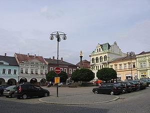 Ústí nad Orlicí - Image: Ústí nad Orlicí Square