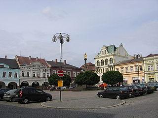 Ústí nad Orlicí Town in Pardubice, Czech Republic