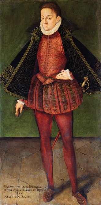 Sigismund III Vasa - Sigismund in his youth