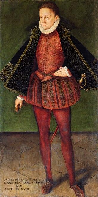 Sigismund III Vasa - Sigismund in his youth