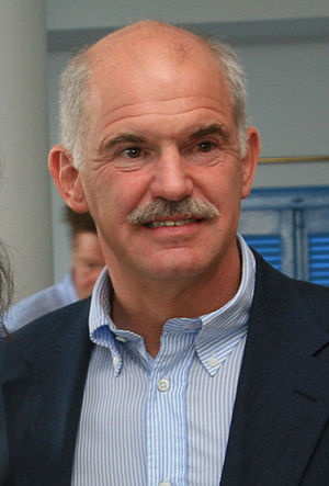 George Andreas Papandreou, Greek politician.